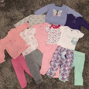 Fantastic Fall-to-Winter baby girl bundle! — 6-12M